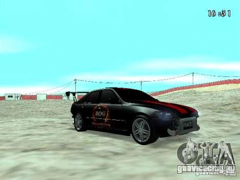 Toyota Altezza NKS Drift для GTA San Andreas вид справа