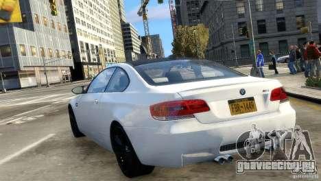 BMW M3 E92 2008 v1.0 для GTA 4 вид сзади слева
