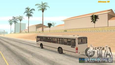 Mercedes-Benz Turk O345 для GTA San Andreas вид слева