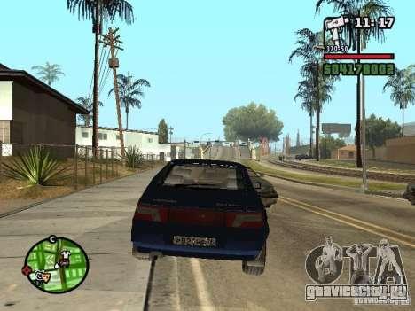 ВАЗ 21124 Купе для GTA San Andreas вид слева