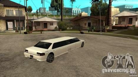 Sultan лимузин для GTA San Andreas вид справа