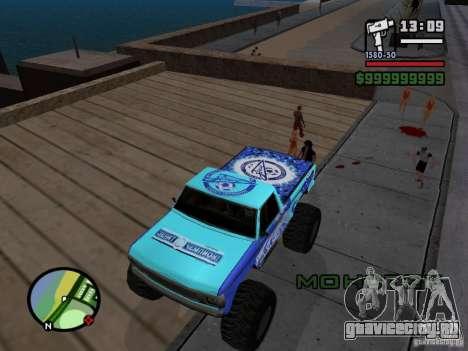 Monster A в стиле ФК ЗЕНИТ для GTA San Andreas