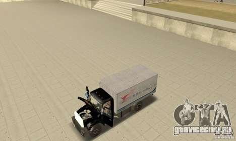 ЗиЛ 433112 с народным тюнингом для GTA San Andreas вид сзади
