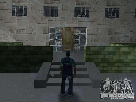 Новые текстуры Полицейского участка для GTA Vice City