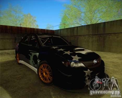 Subaru Impreza WRX STI 2011 для GTA San Andreas колёса