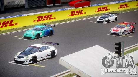 Porsche GT3 RSR 2008 для GTA 4 вид сверху