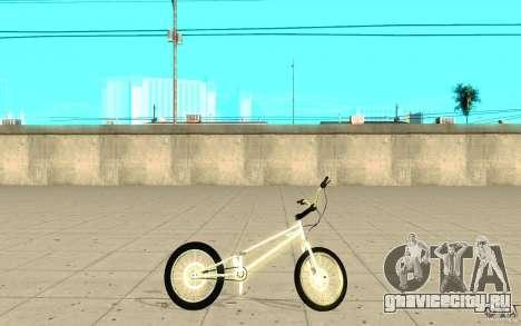 Trail Bike Chrome для GTA San Andreas вид слева