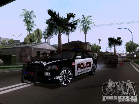 Dodge Charger SRT8 2011 V1.0 для GTA San Andreas