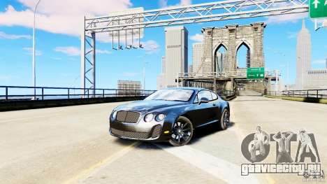 Bentley Continental SuperSports v2.5 (Без тонировки) для GTA 4