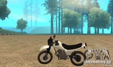 ЗИД Сова 175 Кросс для GTA San Andreas вид слева