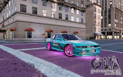 Nissan Silvia S13 Drift Works для GTA 4