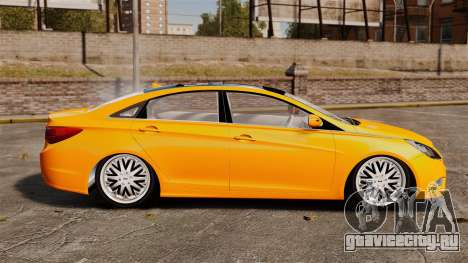 Hyundai Sonata 2011 v2.0 для GTA 4 вид слева