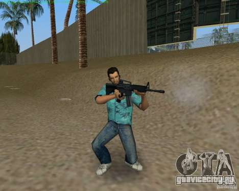 М4 из Counter Strike Source для GTA Vice City пятый скриншот