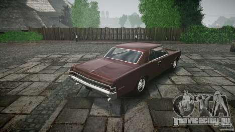 Pontiac GTO 1965 для GTA 4 двигатель