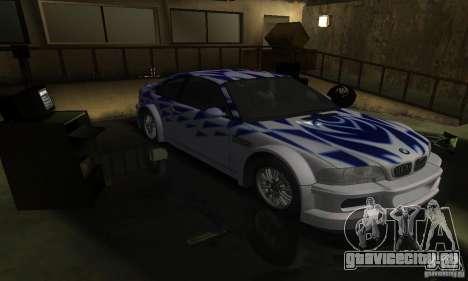 BMW M3 Tuneable для GTA San Andreas