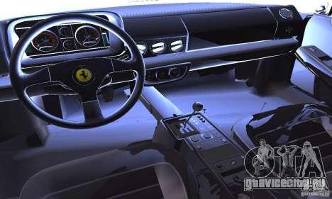Ferrari 512 TR для GTA San Andreas вид сбоку