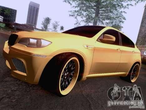 BMW X6M Hamann для GTA San Andreas колёса