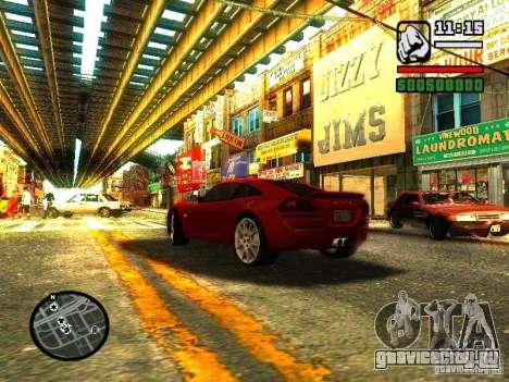 Lotus Europe S для GTA San Andreas вид сзади слева