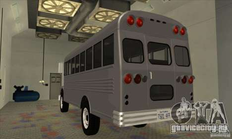Civil Bus для GTA San Andreas вид справа
