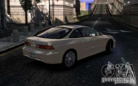 Honda Integra Type R для GTA 4 вид справа