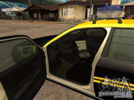 Chevrolet Impala Police 2003 для GTA San Andreas вид сзади слева