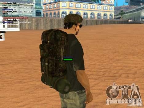 Military backpack для GTA San Andreas четвёртый скриншот