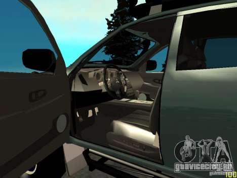 Mitsubishi L200 для GTA San Andreas вид сзади слева