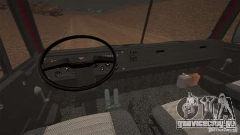 КамАЗ 5410 для GTA 4 вид сзади слева