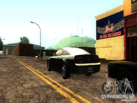 ENB v1 by Tinrion для GTA San Andreas третий скриншот