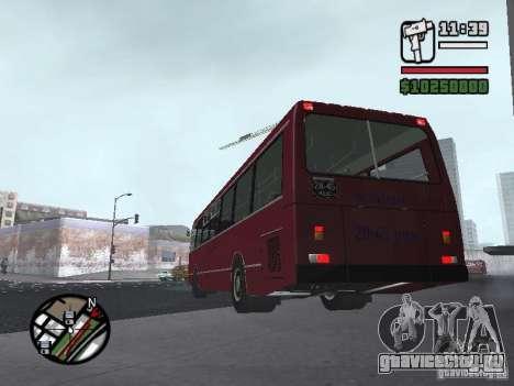 ЛАЗ 5252 для GTA San Andreas вид сзади слева