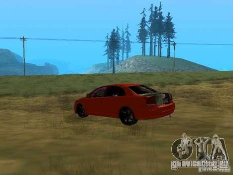 Toyota Avensis TRD Tuning для GTA San Andreas вид слева