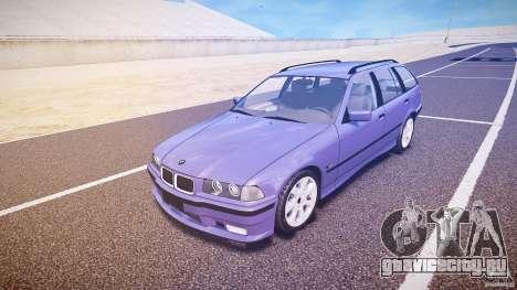 BMW 318i Touring для GTA 4