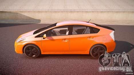 Toyota Prius 2011 для GTA 4 вид слева