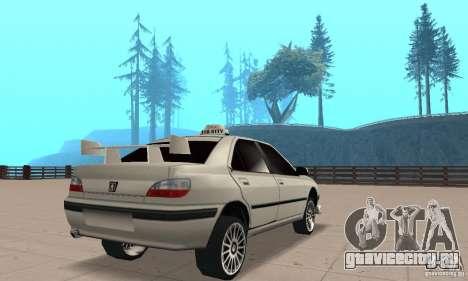 Peugeot 406 TAXI для GTA San Andreas