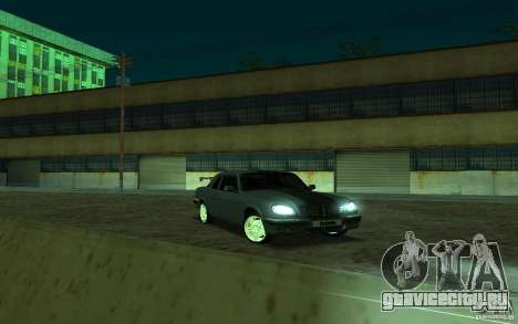 ГАЗ 31105 coupe для GTA San Andreas