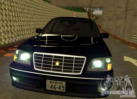 Toyota Crown Majesta S170 для GTA San Andreas вид слева
