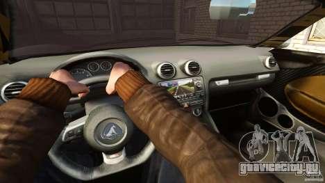 Turismo Spider для GTA 4 вид сзади