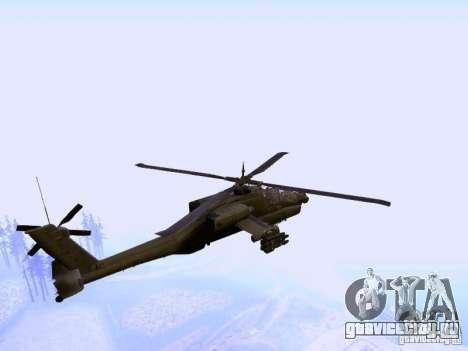 HD Hunter для GTA San Andreas вид сзади слева