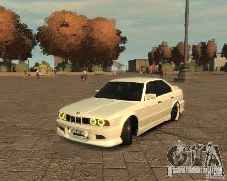Bmw 535i (E34) tuning для GTA 4