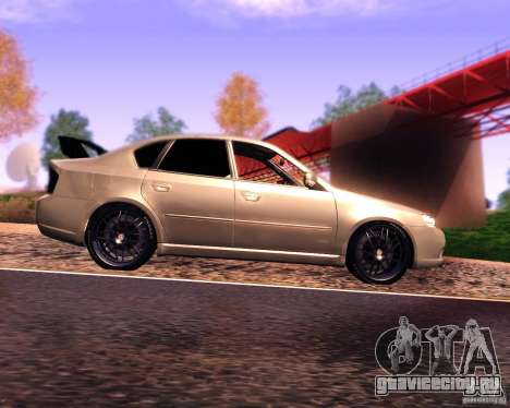 Subaru Legacy 3.0 R tuning v 2.0 для GTA San Andreas вид слева