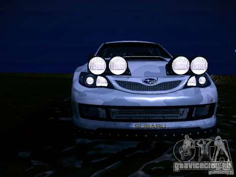 Subaru Impreza WRX STi N14 Rallycross для GTA San Andreas вид снизу
