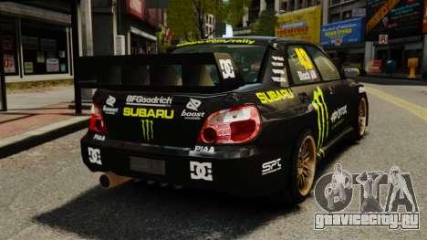 Subaru Impreza WRX STI GD Gymkhana Ken Block для GTA 4