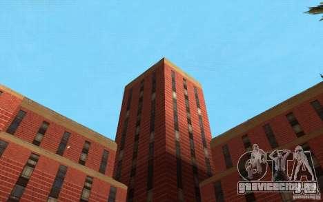 Новые текстуры для госпиталя в Лос Сантосе для GTA San Andreas одинадцатый скриншот