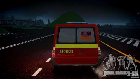 Ford Transit Polski uslugi elektryczne [ELS] для GTA 4 вид снизу