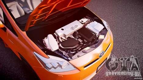 Toyota Prius 2011 для GTA 4 вид изнутри