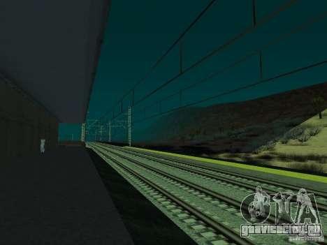 Высокоскоростная ЖД линия для GTA San Andreas седьмой скриншот