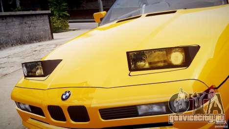 BMW 850i E31 1989-1994 для GTA 4 колёса
