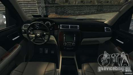Chevrolet Suburban GMT900 2008 v1.0 для GTA 4 вид сзади
