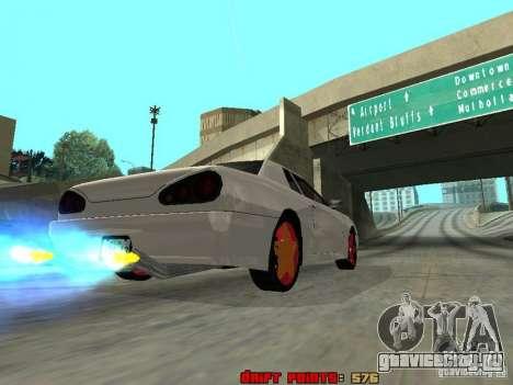 Elegy 29-13 для GTA San Andreas вид сбоку