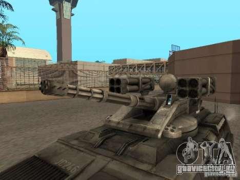 APC Anti-Air для GTA San Andreas вид справа